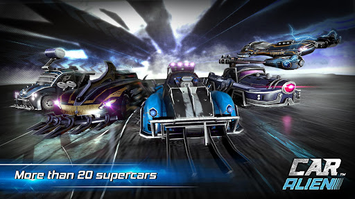 Car Alien - 3vs3 Battle screenshot 4