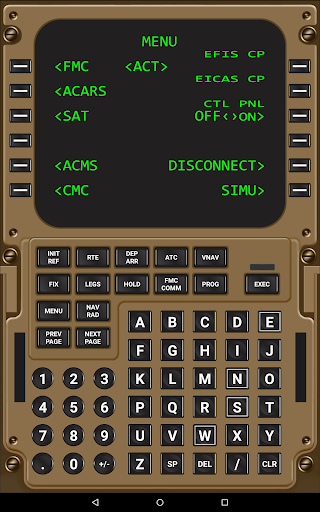 Virtual CDU 747 1 1 APK by Virtual Avionics Details