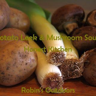 Potato Leek Mushroom Soup