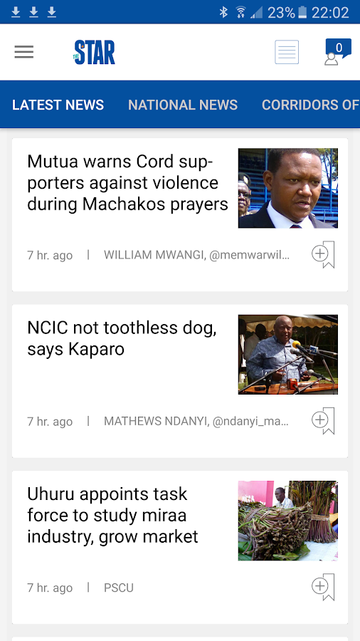 The Star Kenya- screenshot