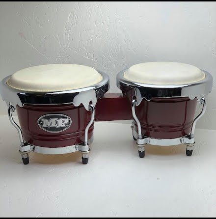 Mano Percussion Bongos - MP1767-WRD - Vinröda