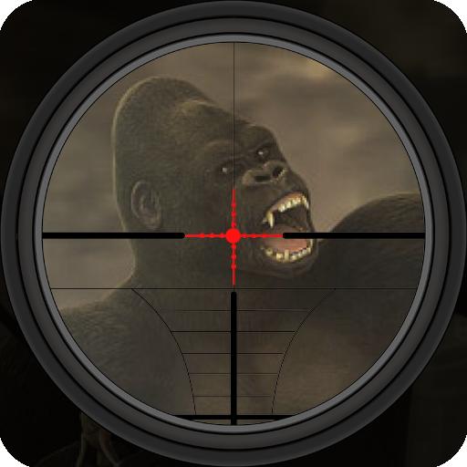 Gorilla Hunter Game : Sniper Shooting