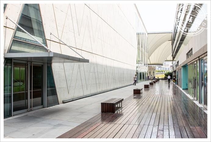 大東文化藝術中心步道