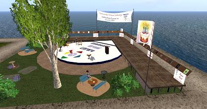Photo: The Community Virtual Library at http://maps.secondlife.com/secondlife/FruitIslands%20SL9B%20Fun/36/34/21