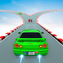 Skyline Car Stunt Games : Mega Ramp Car Games icon