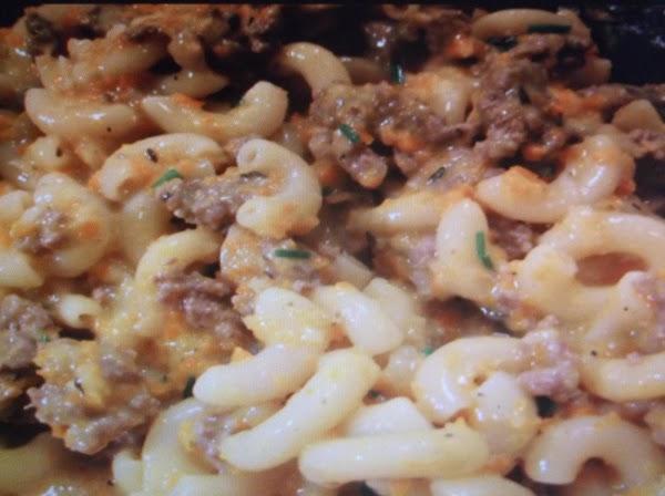 Cheesebueger  Macaroin (eddie Style) Recipe