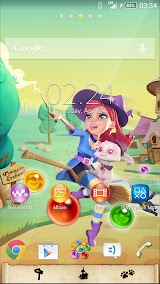 XPERIA™ Bubble Witch 2 Theme Apk Download Free for PC, smart TV