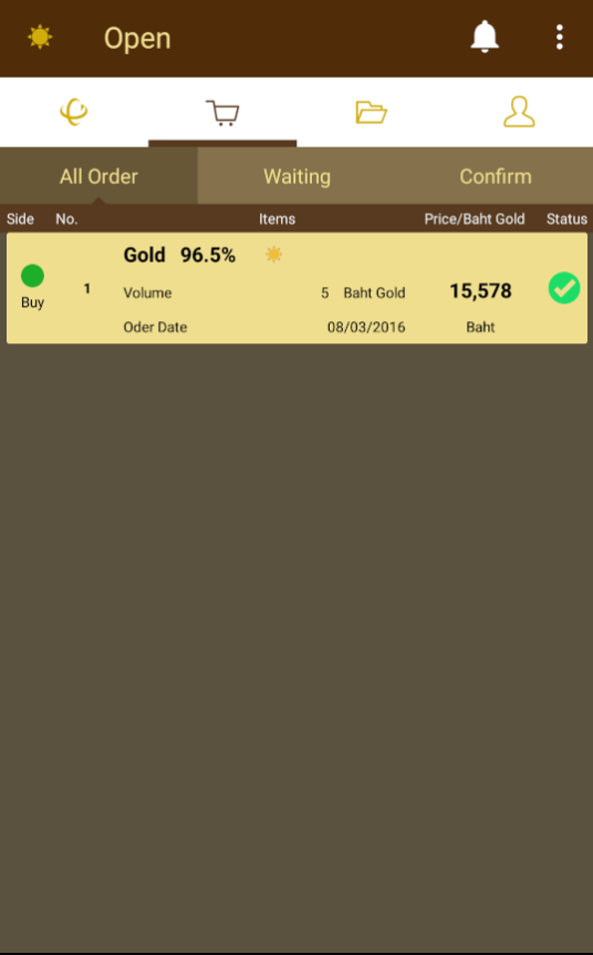 Classic Gold Online Trade- screenshot