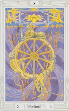 Photo: .X. Fortune - A Roda da Fortuna Thoth Tarot Crowley