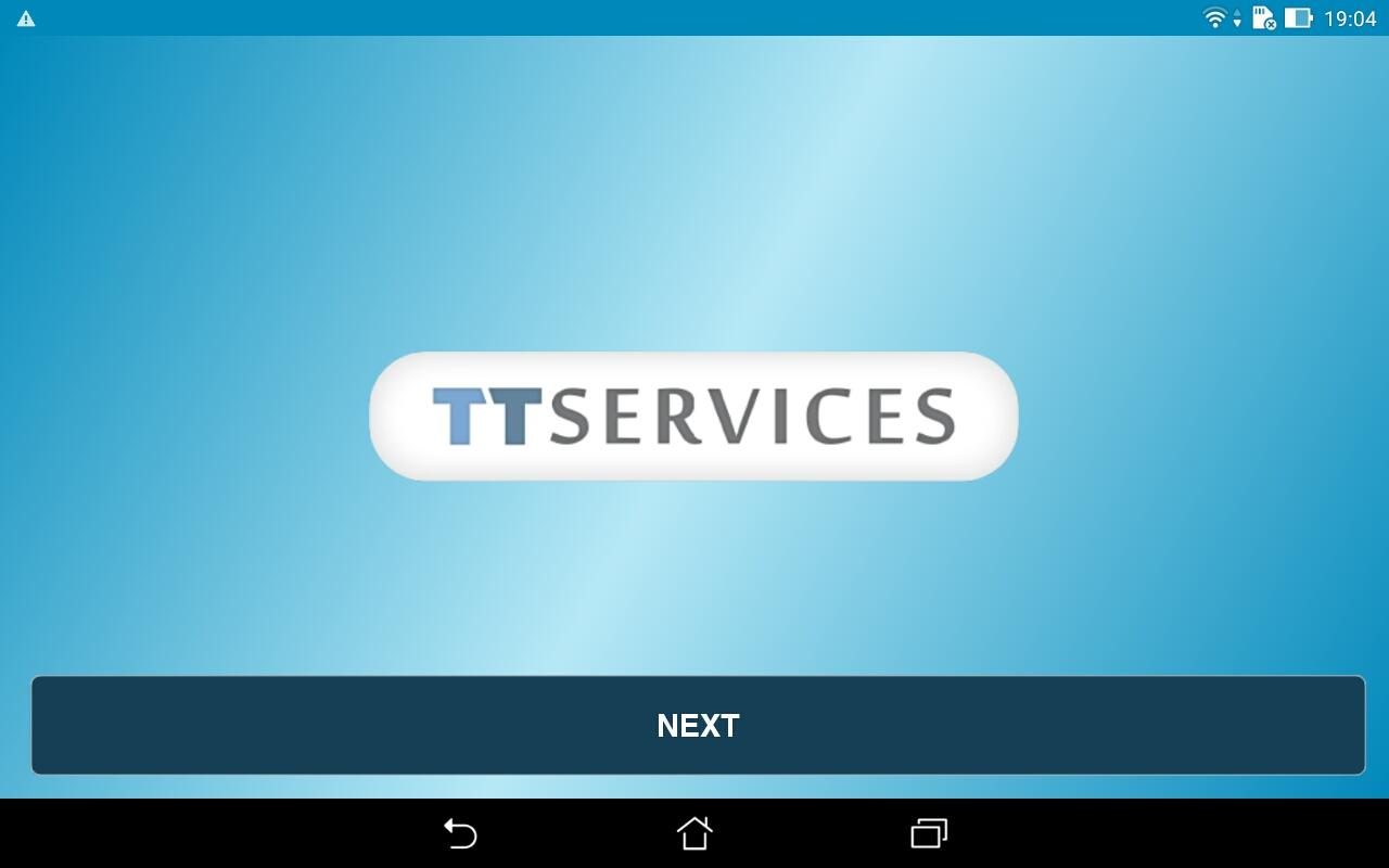 TTS Tracking & Feedback App- screenshot