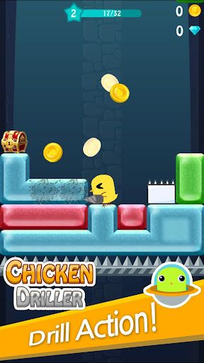 Chicken Driller:Can Your Drill android2mod screenshots 2