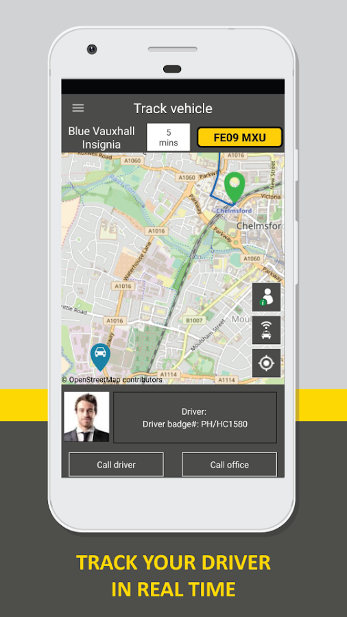 Happicabs (Chelmsford Taxi)- screenshot