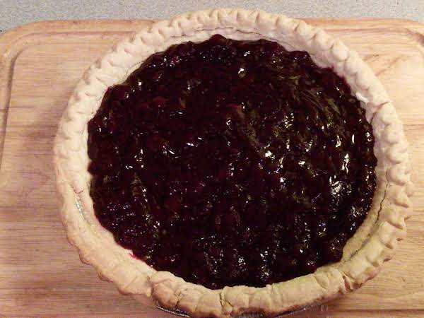 No Bake Blueberry Cream Cheese Pie In A Pastry Crust