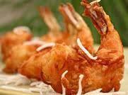 Mom's Coconut Battered Shrimp