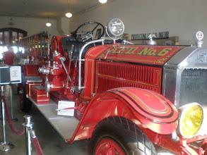 Photo: inside the firestation