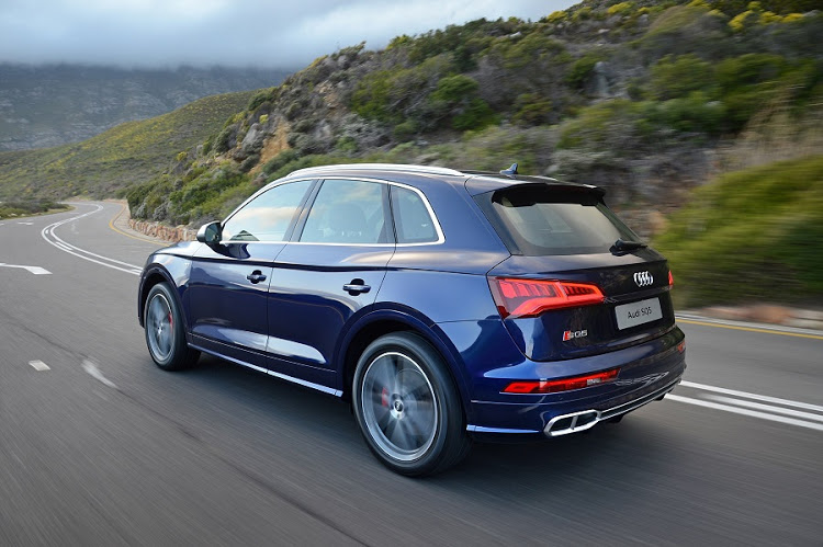 The SQ5 looks the part of a high-performance SUV with a muscular and sporty appearance