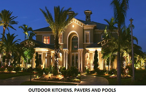 Outdoor Kitchens, Pavers and Pools Bradenton Beach, Florida