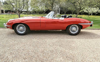 Jaguar E Type Rent East Midlands