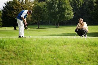 Photo: Wenn die Putts fallen, ist Golf ganz easy.