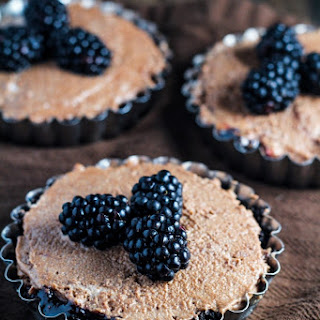 Chocolate Blackberry Tartlets