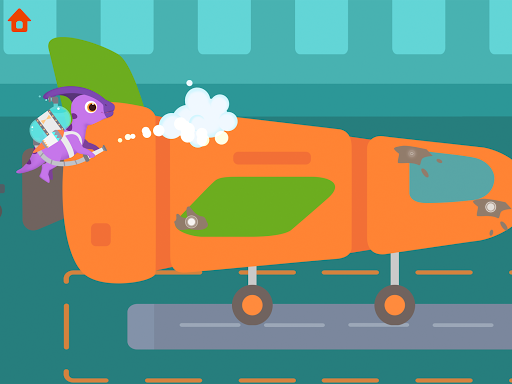 Dinosaur Airport - Flight simulator Games for kids 1.0.4 screenshots 11