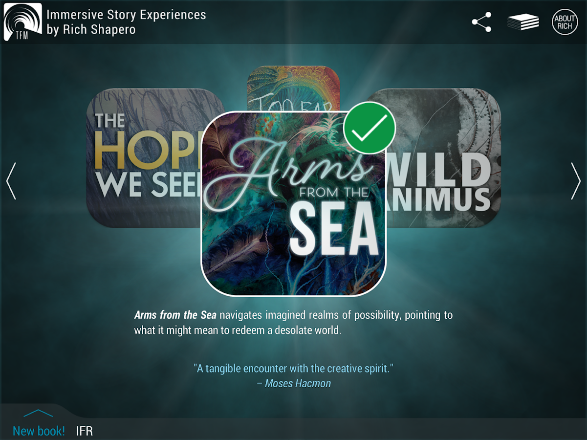 TooFar Media: Immersive Story Experiences- screenshot