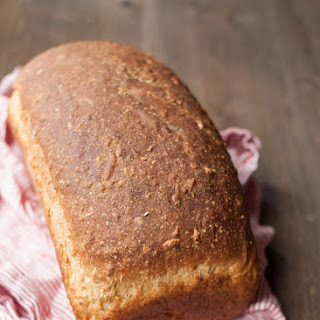 Oatmeal Sourdough Sandwich Bread