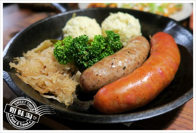 舒曼六號餐館 Schumanns's Bistro No. 6-德國雙味煎腸