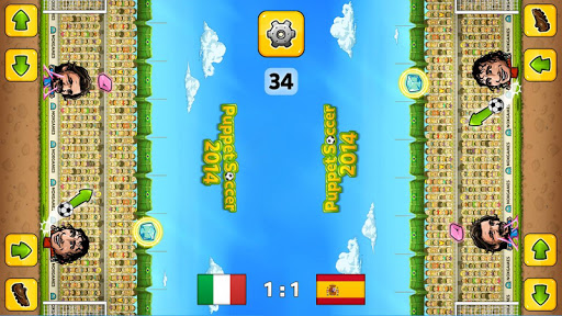 ⚽Puppet Soccer 2014 - Big Head Football ? screenshot 16