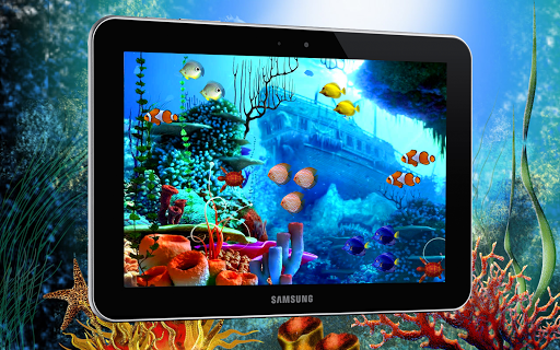 Tropical Fish LiveWallpaper
