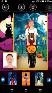 Halloween Montage Photo Maker screenshot 3