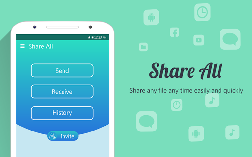 Share ALL : File Transfer & Share with EveryOne for PC