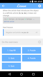 Dr French, French grammar- screenshot thumbnail