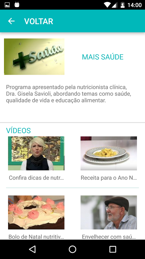 TV Canção Nova- screenshot