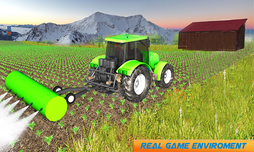 Snow Tractor Agriculture Simulator screenshot 3