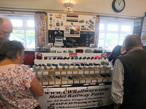 Photo: 007 Chris and Christine Ward brought their very popular CWR 3D models range all the way from Sidmouth in Devon .