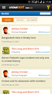 CricketNext Live for Android- screenshot thumbnail