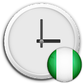 Nigeria Clock & RSS Widget