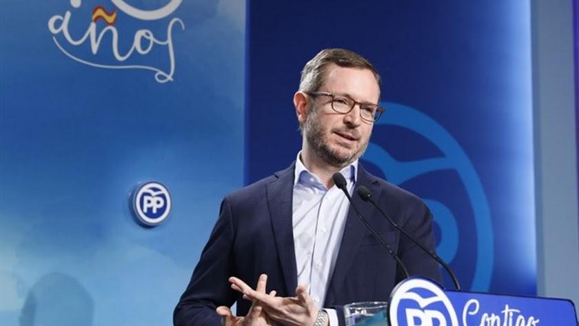 El vicesecretario de Política Social Sectorial del PP, Javier Maroto.