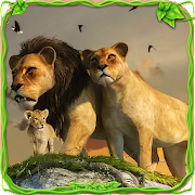 Game Furious Lion Family Sim apk for kindle fire