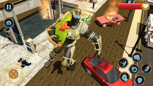 Super Hero Panther Robot Crime City Rescue Mission 13.0.1 screenshots 2