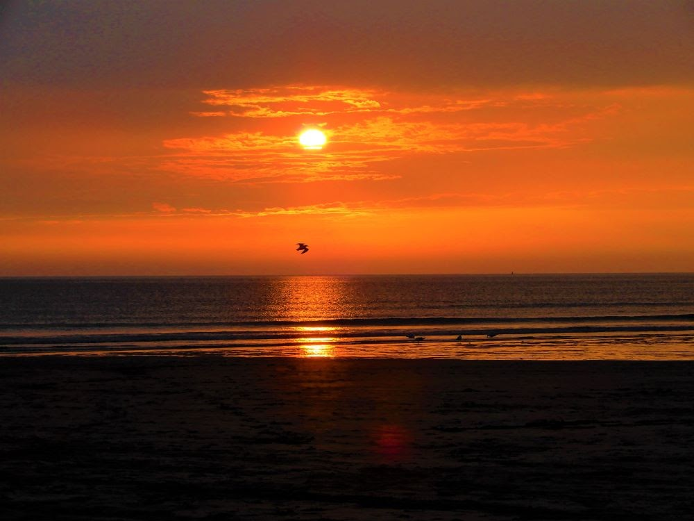 Foto 2 – traumhafter Sonnenuntergang in Woolacombe
