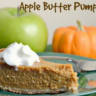 Apple Butter Pumpkin Pie.