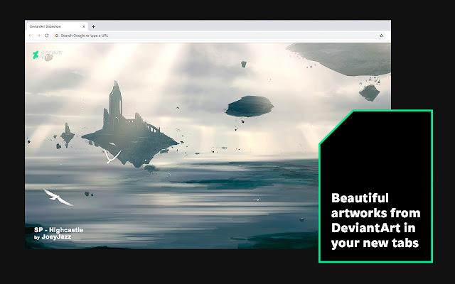 DeviantArt Slideshow