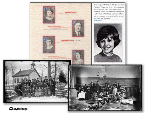 Face recognition and OCR processing of 300 million records from US yearbooks
