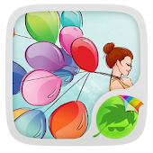 Colorful Balloons Keyboard