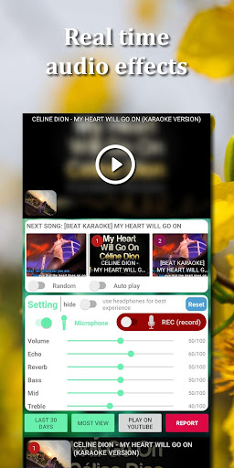 Kakoke - sing karaoke, voice recorder, singing app screenshot 5