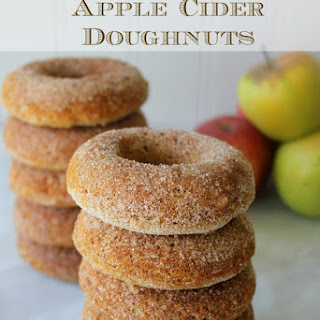 Baked Gluten-Free Apple Cider Doughnuts