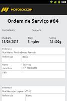 Screenshot of Motoboy.com - Versão Motoboy