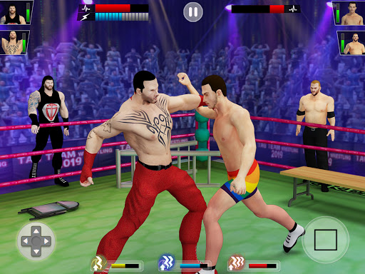 Tag team wrestling 2020: Cage death fighting Stars screenshots 14